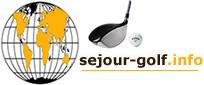 logo séjour golf dans le monde