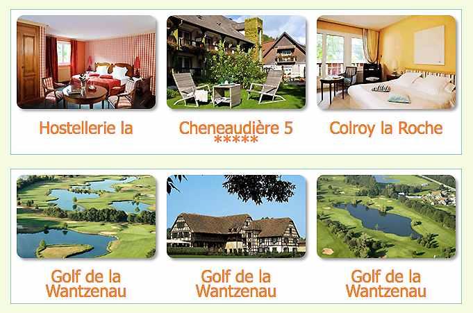 Séjour Golf Hostellerie la cheneaudière 5 *